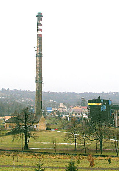 Komin w Wieliczce panorama