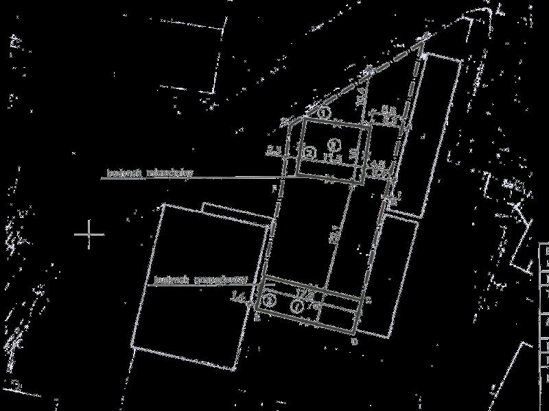 Plan sytuacyjny lokalizacji budynku w Katowichach