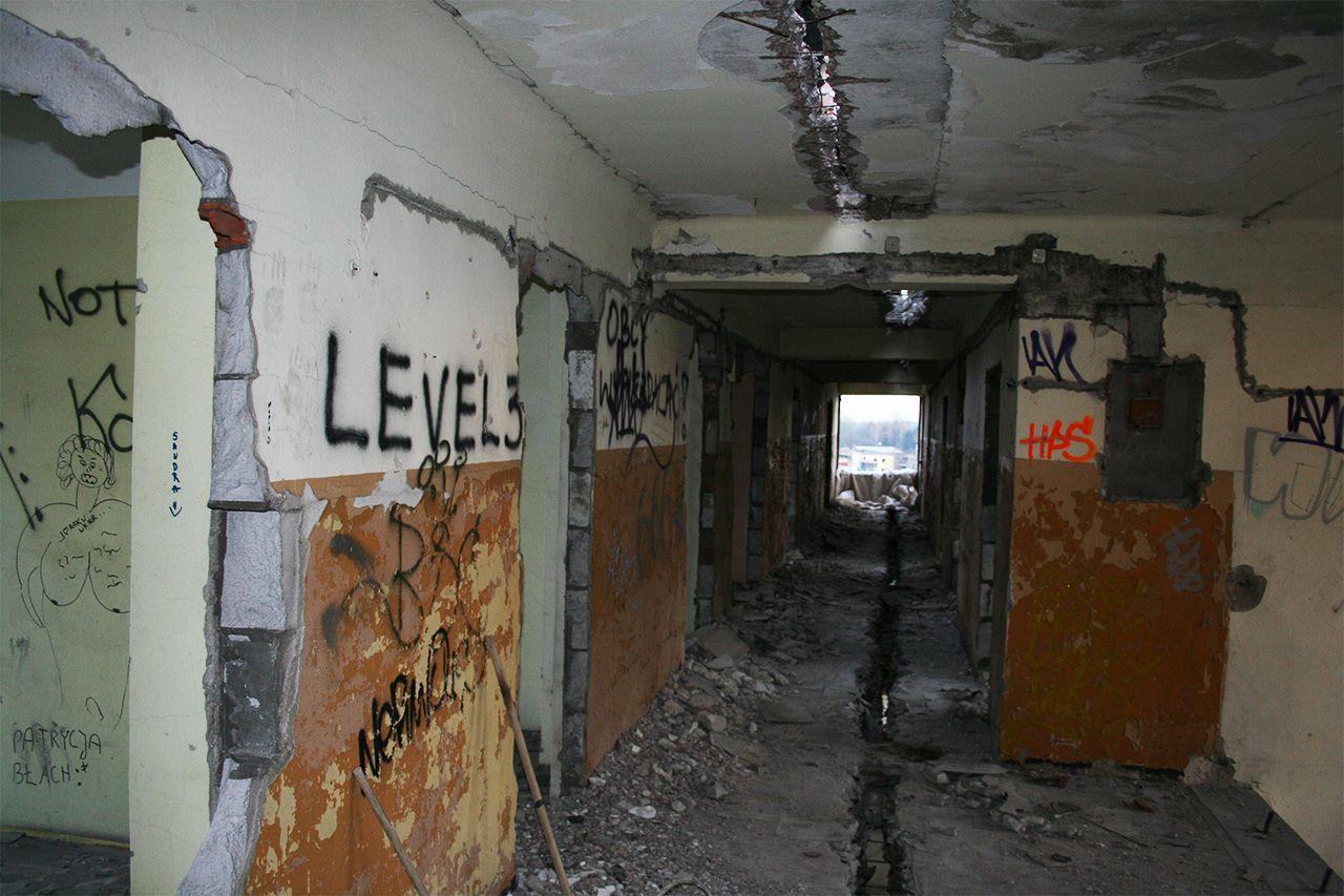 Przecięcie budynku