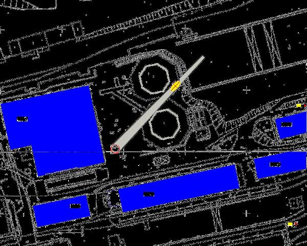 mapa sytuacyjna terenu rozbiórki