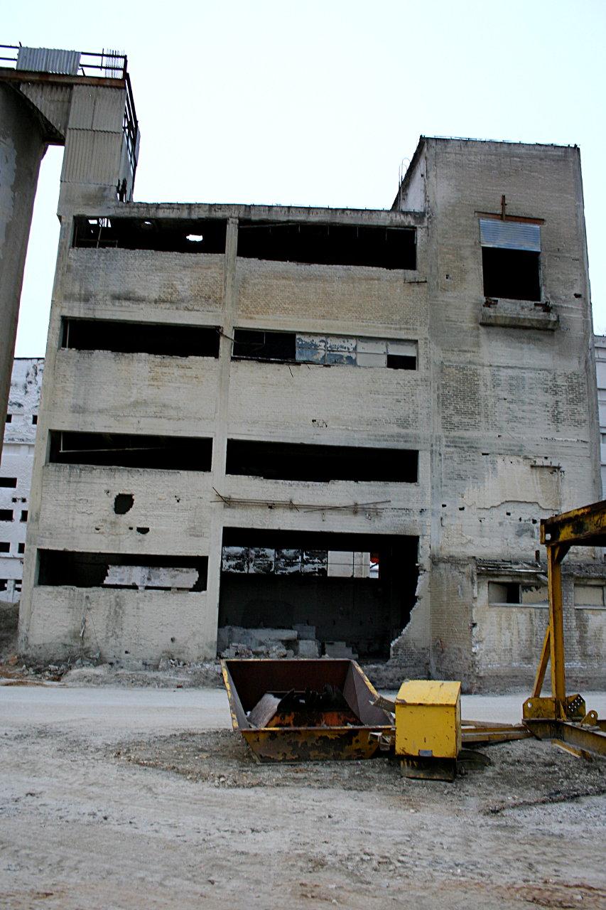Budynek przemiałowni