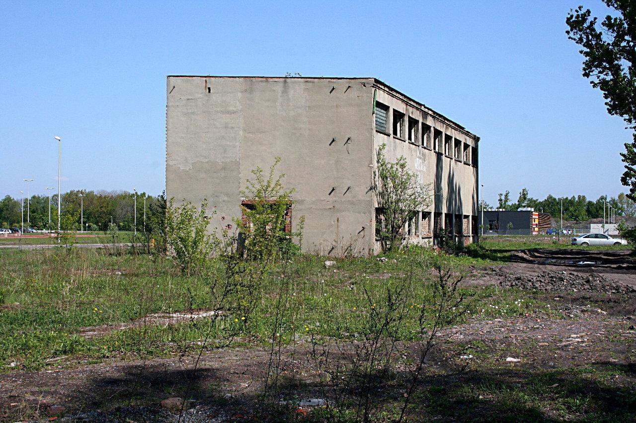 Budynek rozdzielni 500V - Koksownia Gliwice