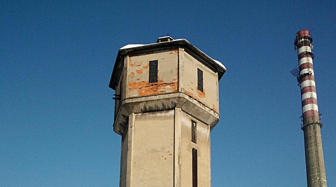Wyburzenie Wieży ciśnień na terenie ZMT – Tarnów