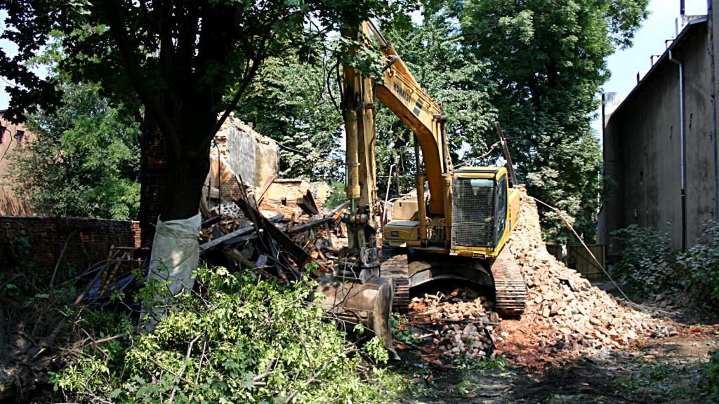 Rozbiórka budynków – Katowice