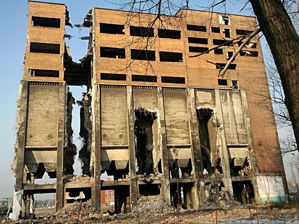 Wyburzenie budynków byłej Koksowni Gliwice