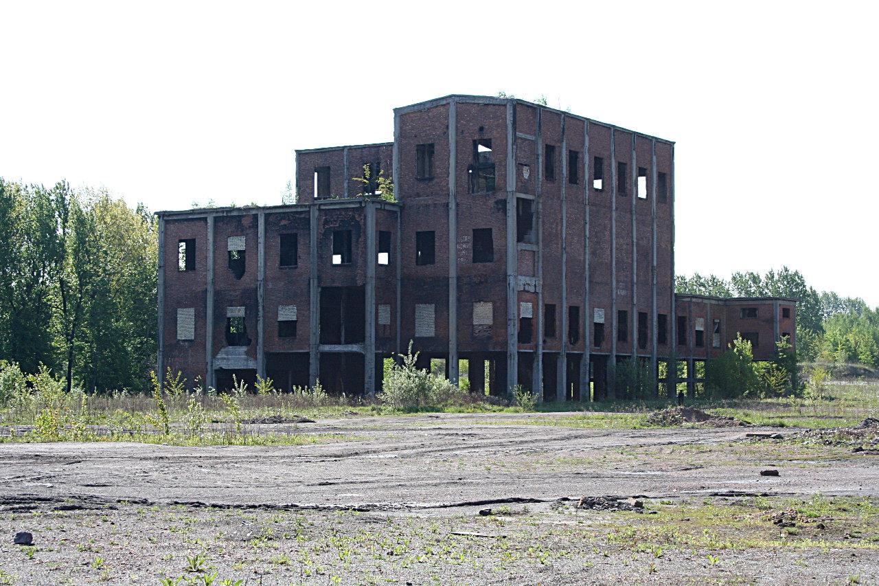 Budynek Sortowni Koksownia Gliwice