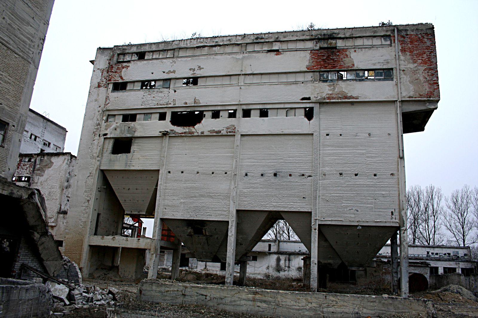 Budynek sortowni głównej
