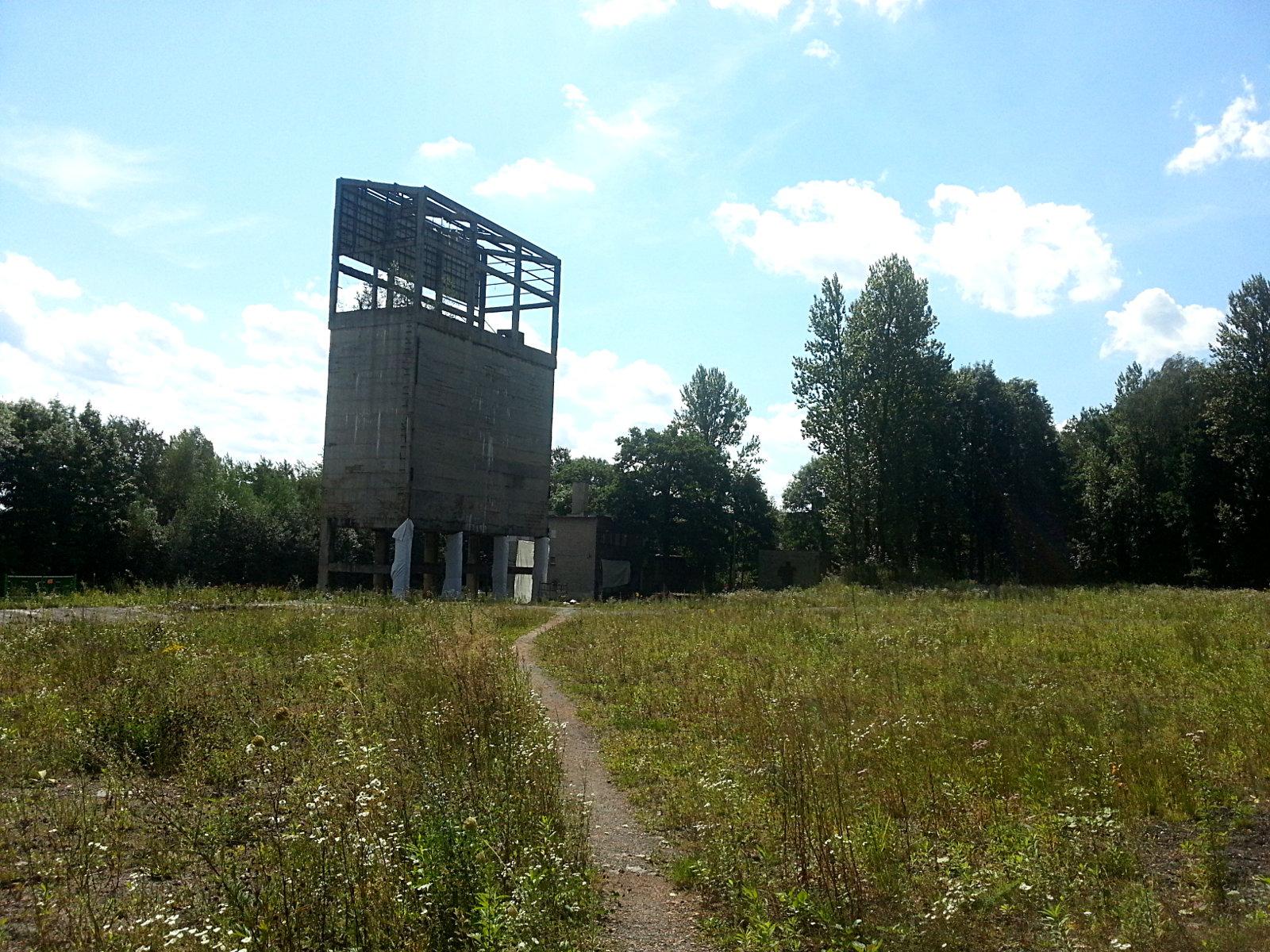 Zbiorniki na kruszywo w Bytomiu