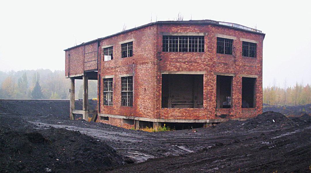 Wyburzenie budynku sortowni – Czechowice-Dziedzice